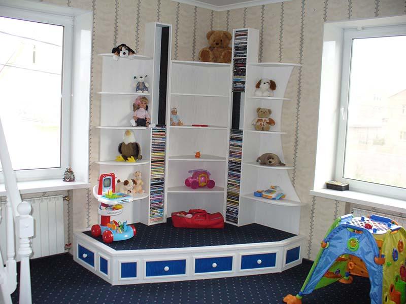 Детский игровой уголок в комнате своими руками 75